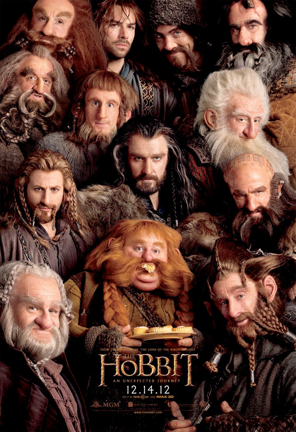 New Poster For The Hobbit Features A Plethora Of Dwarves