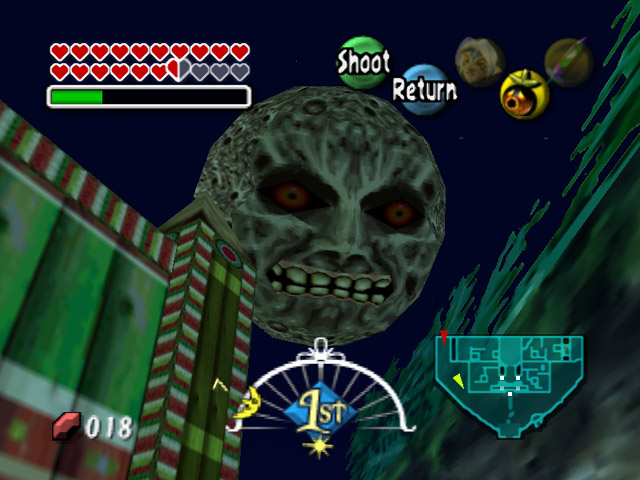 Zelda Producer Laughs Ambiguously When Questioned About Majora's Mask Remake
