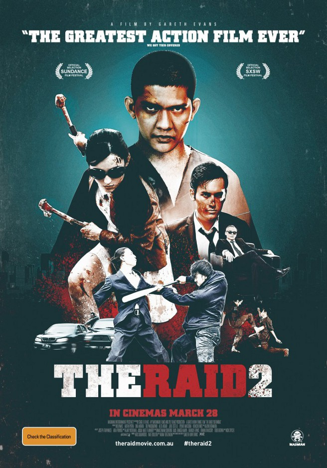 New International Poster For The Raid 2 Quotes We Got This Covered