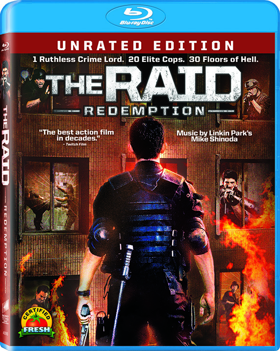 The Raid: Redemption Blu-Ray Review