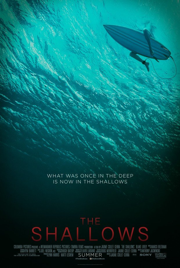 Watch Blake Lively Square Off Against A Great White In First Trailer For The Shallows
