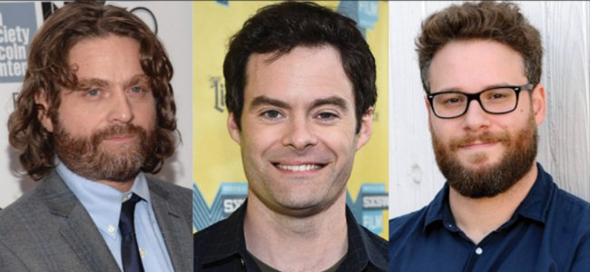 Astronaut Comedy The Something Recruits Seth Rogen, Bill Hader And Zach Galifianakis