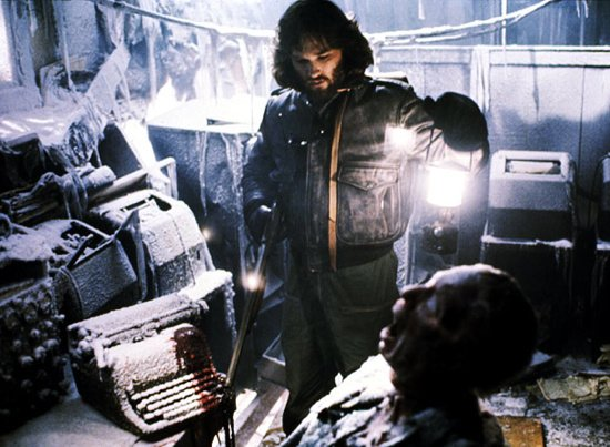 The Thing Kurt Russell 1350611835 crop 550x403 Top Ten 80s Horror Movies
