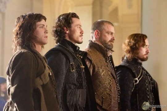 New Images From The Three Musketeers