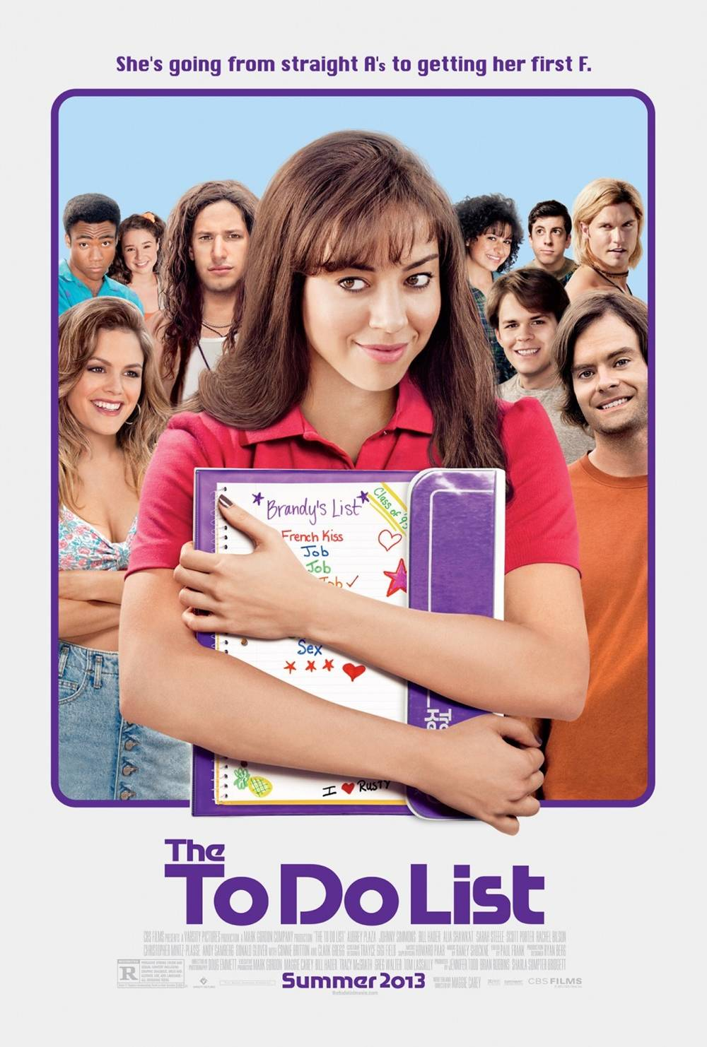 The To Do List Gets Its First Poster