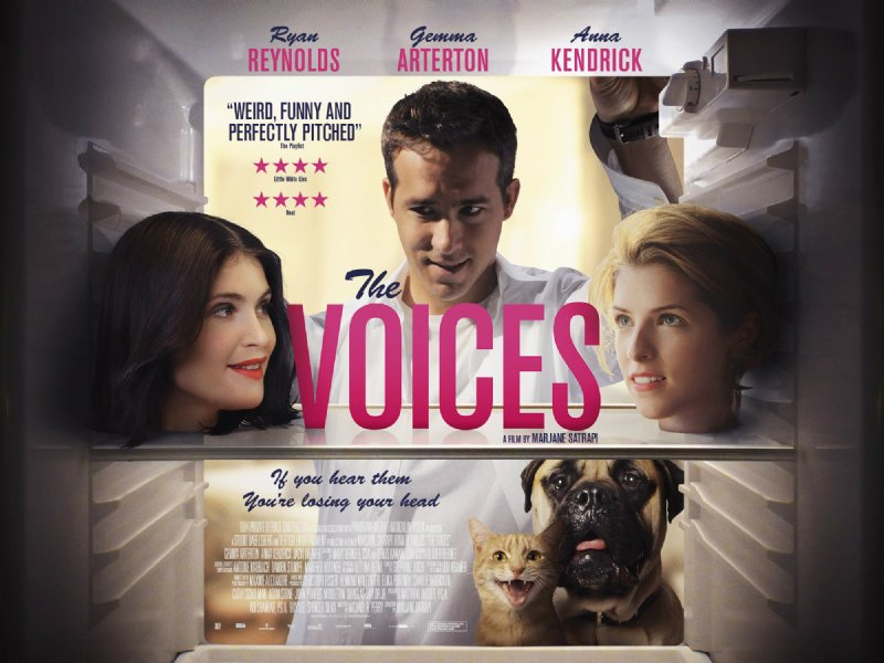 New Poster For Ryan Reynolds' The Voices Is As Weird As It Is Wonderful