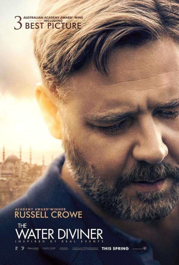 New Trailer For Russell Crowe's Directorial Debut The Water Diviner