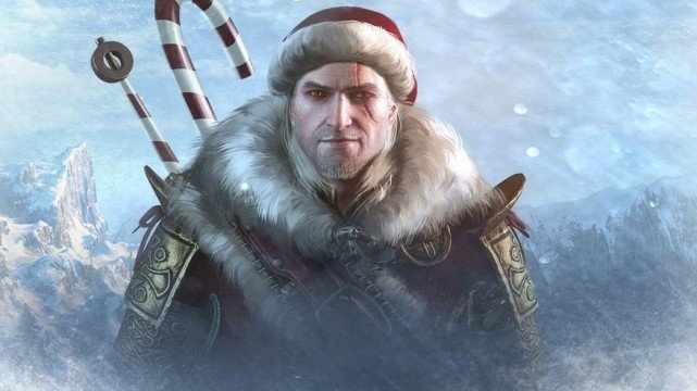 The Witcher 3 santa