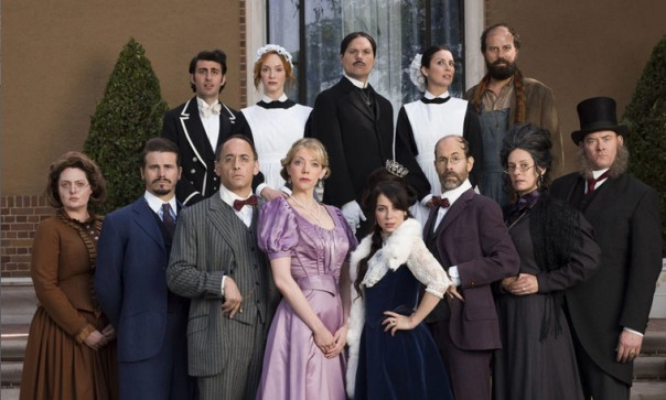 The cast of Another Period