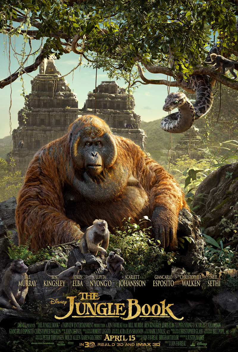 Marvel At One Third Of Jon Favreau's Animal Kingdom With Latest Poster For The Jungle Book