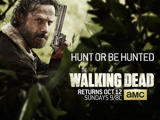 It's Hunt Or Be Hunted In New Poster For The Walking Dead Season 5
