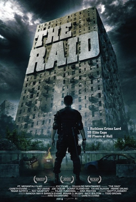 Red Band Trailer For The Raid Looks Awesome