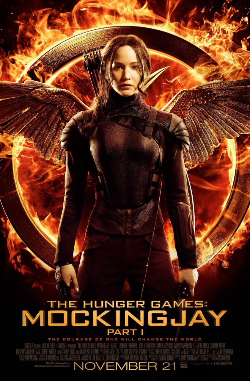 Katniss Is Ready For War In Full Poster For The Hunger Games: Mockingjay — Part 1