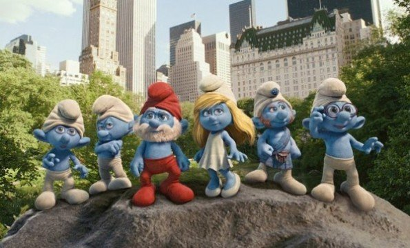 The Smurfs Movie e12955588739921 595x360 The Smurfs 2 Hitting Theaters This July, New Poster Revealed