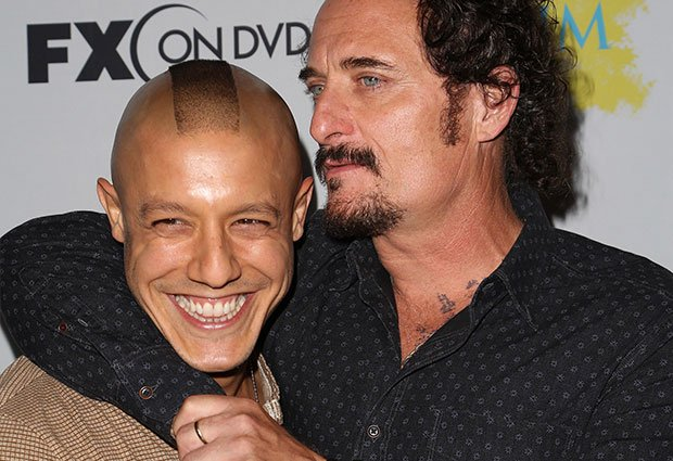 Sons Of Anarchy's Theo Rossi And Kim Coates Google Hangout With Fans