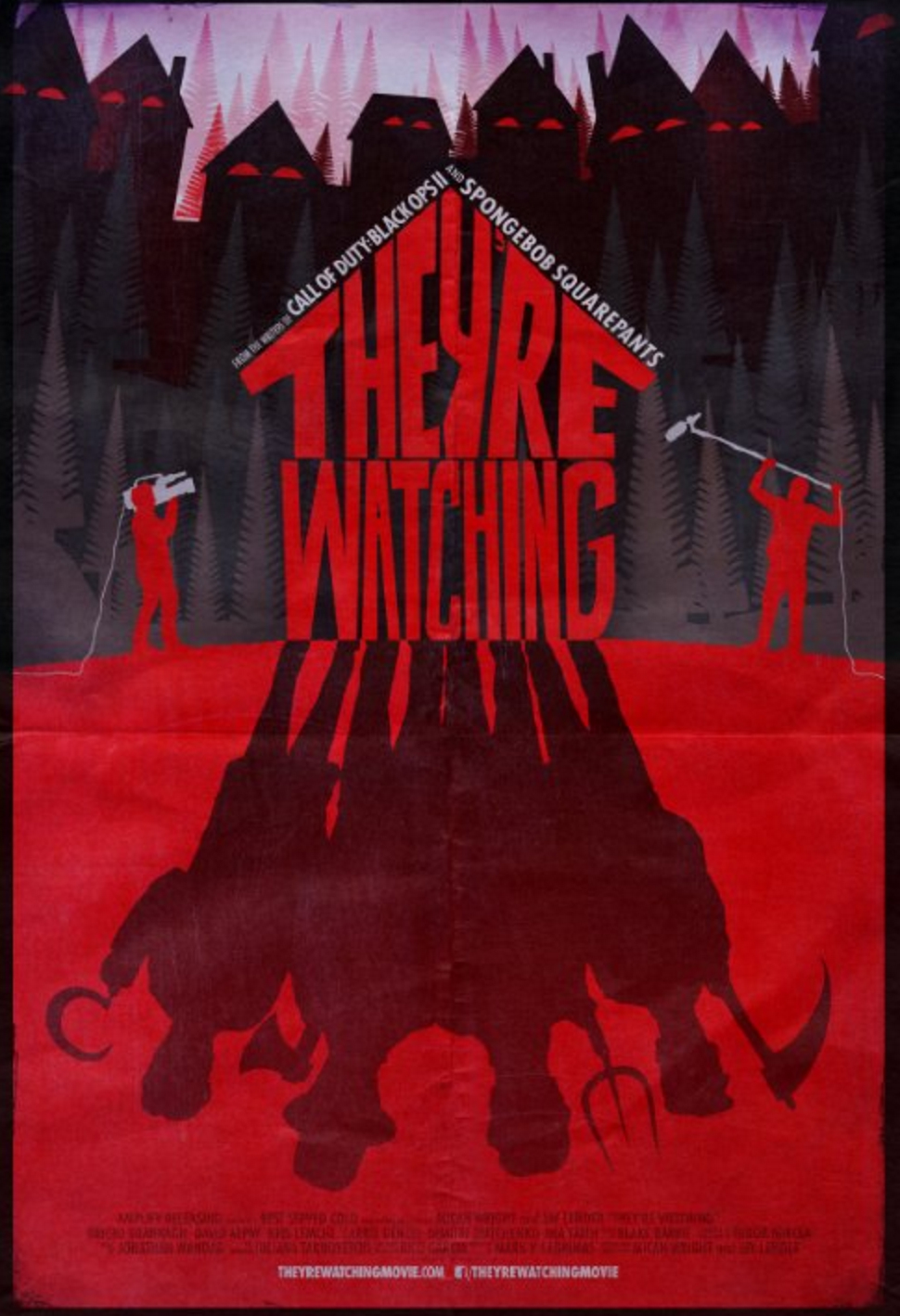 Watch Exclusive Clip For Micah Wright And Jay Lender's Tense Horror Flick They're Watching