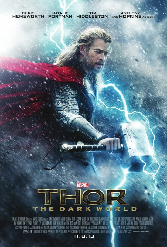 Thor: The Dark World Releases Its First Poster