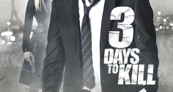 Three Days To Kill poster 600x321 Movie Poster Trends: From Art Form To Boredom