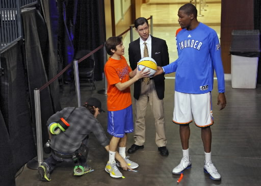 First Trailer For Kevin Durant's Thunderstruck