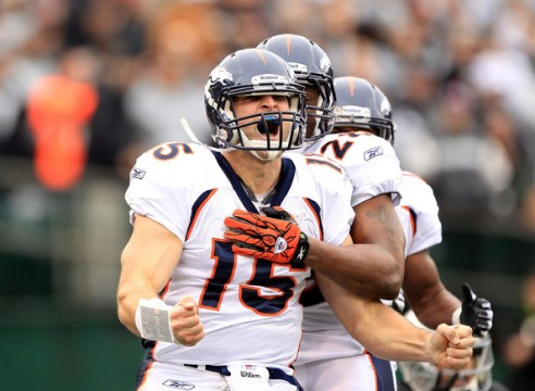 Tim+Tebow+Denver+Broncos+v+Oakland+Raiders+661902l0nmal 492x360 Pretty Much Anything Is Greater Than Tim Tebow