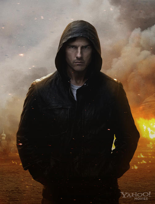 New Promo Image Of Tom Cruise In Mission: Impossible - Ghost Protocol