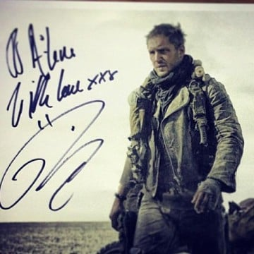 First Image Of Tom Hardy In Mad Max: Fury Road