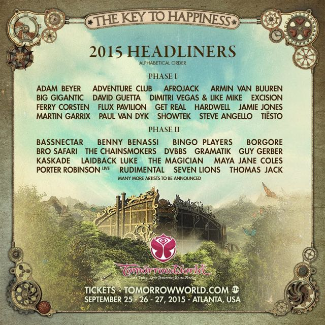TomorrowWorld's Phase II Lineup Is Here And It's Fire