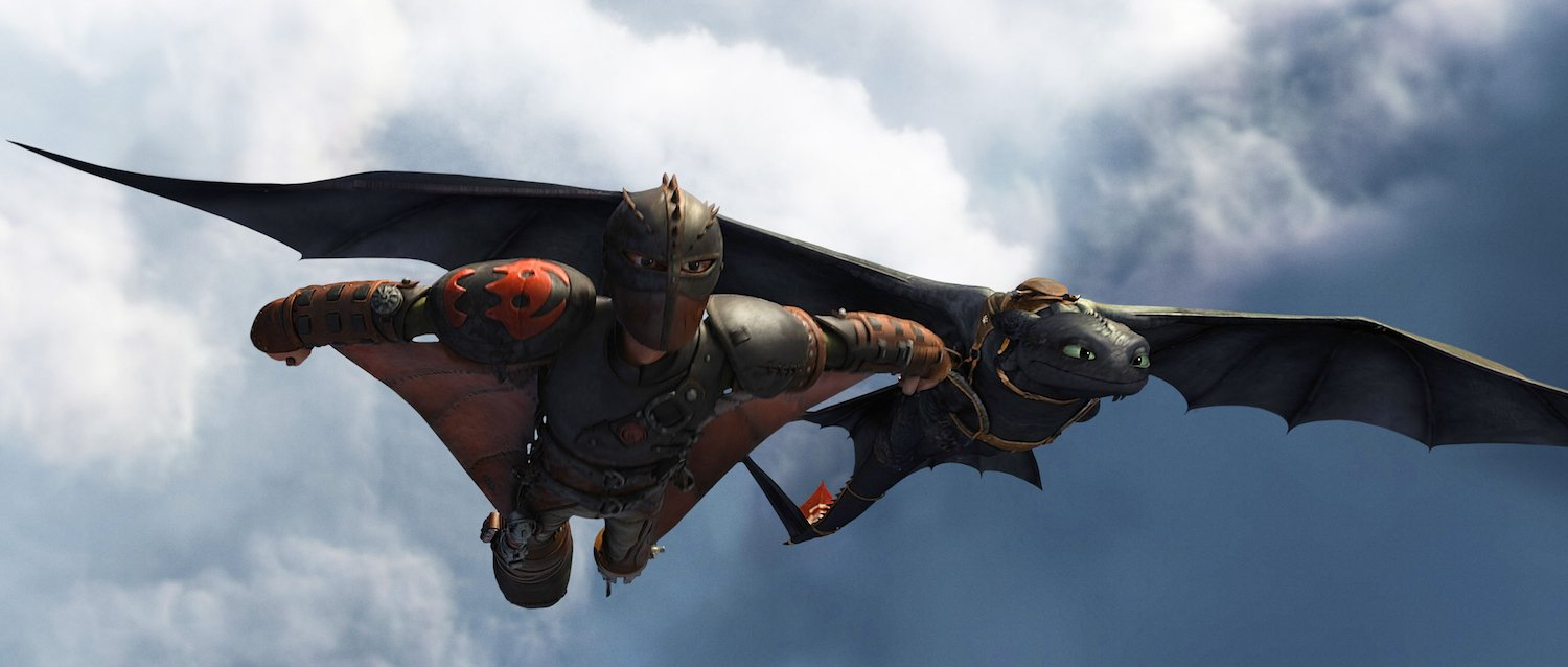 Check Out The First Clip And New Images From How To Train Your Dragon 2