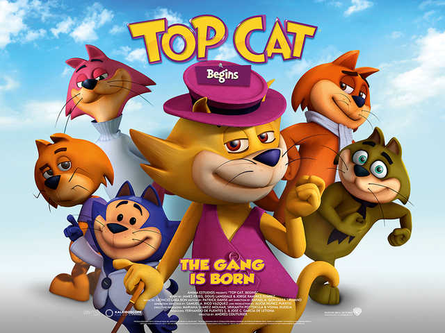 First Trailer And Poster For Top Cat Begins Slink Online