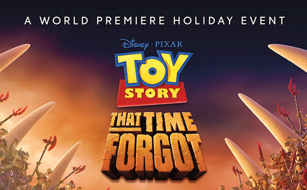 Buzz And Woody Face A Dino Crisis In Toy Story That Time Forgot Poster