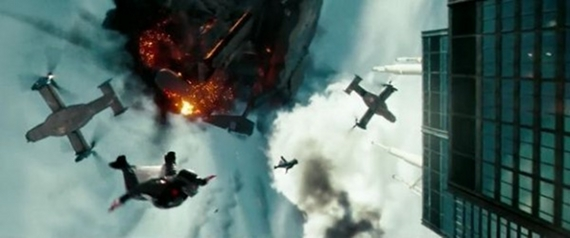 New Transformers: Dark Of The Moon Featurette Shows Off Base Jumpers