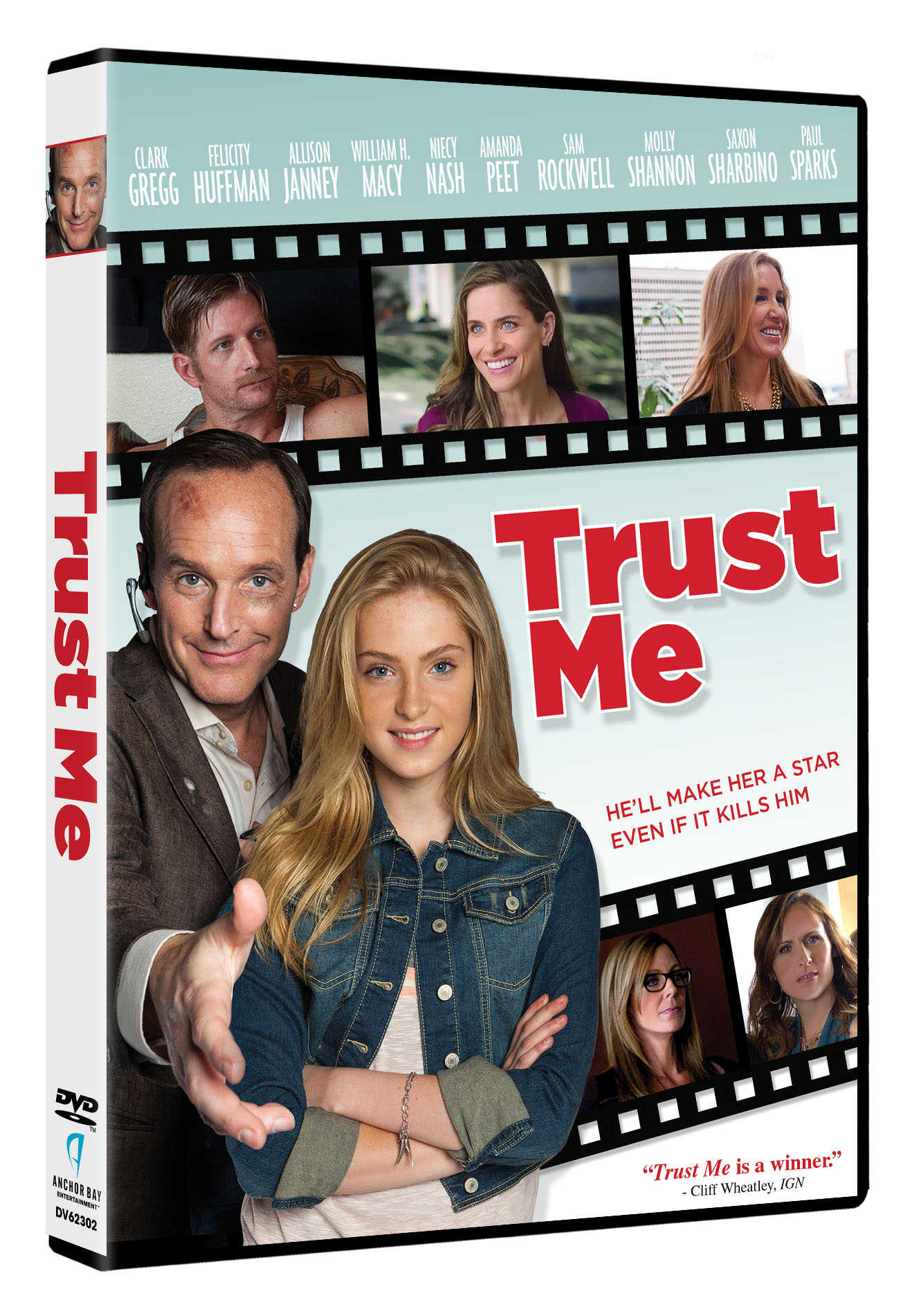 EXCLUSIVE: Check Out The DVD Box Art For Trust Me, Starring Clark Gregg