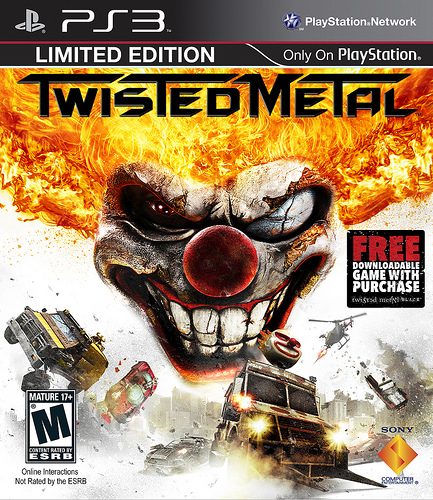 First Run Of Twisted Metal Comes With Free Twisted Metal Black