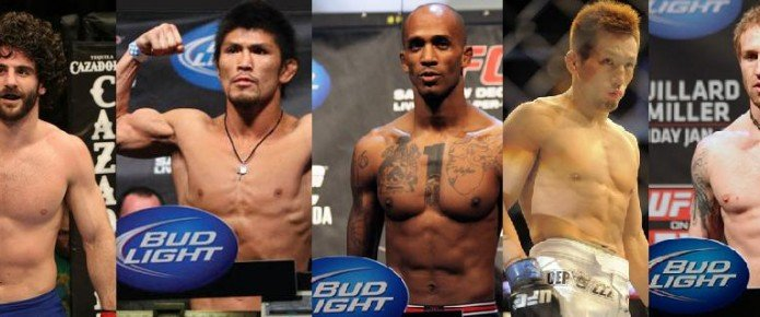 UFC Gives Five Fighters Their Walking Papers