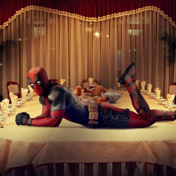 Deadpool Wishes Fans A Happy Thanksgiving In Fun New Promo Image