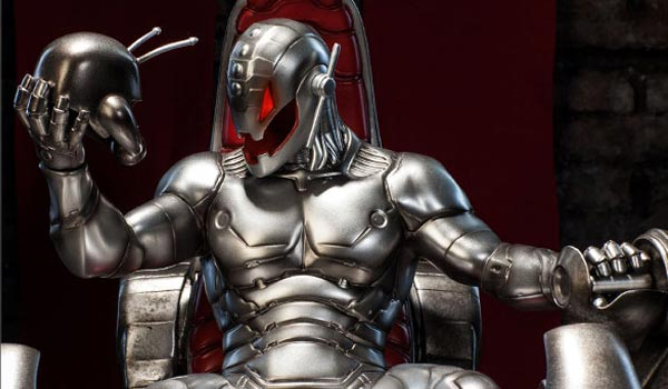 Ultron on throne1 Ultron Will Be More Grounded In Avengers: Age Of Ultron, Says Joss Whedon