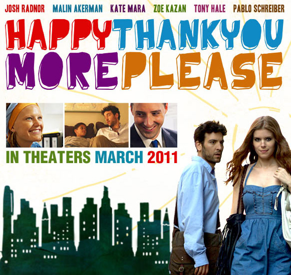 New Trailer And Poster For Happythankyoumoreplease