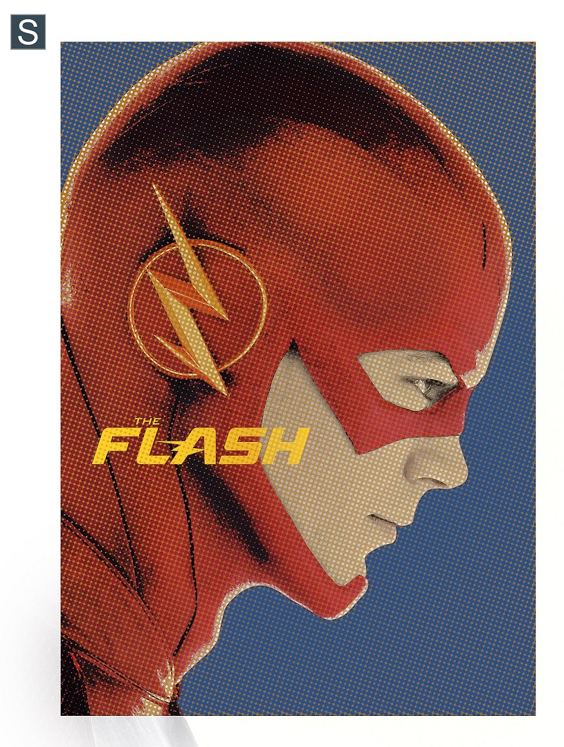 Check Out This Pulpy Poster For The Flash, Plus New Gotham Images