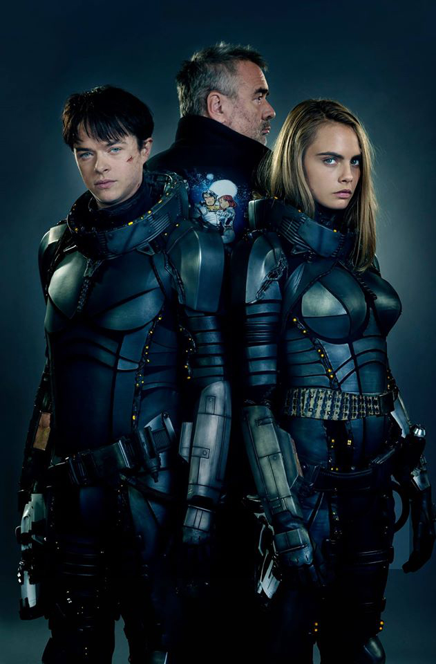 Valerian First Look Showcases A Battle-Ready Cara Delevingne And Dane DeHaan