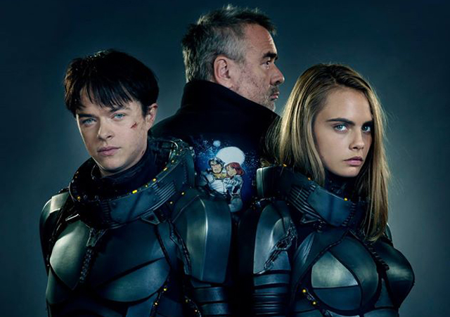 Luc Besson Sci-Fi Valerian To Light Up Hall H At Next Month's Comic-Con
