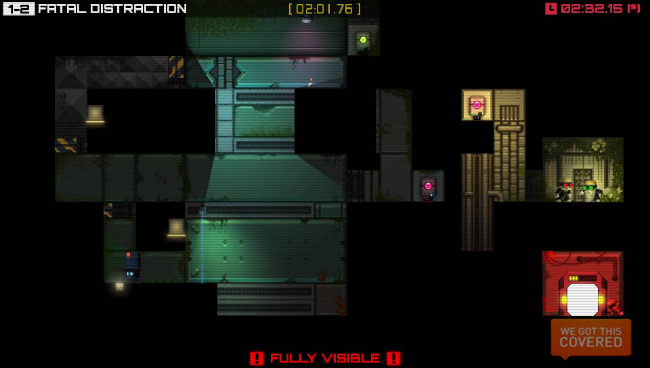 Stealth Inc: The Lost Clones DLC Review