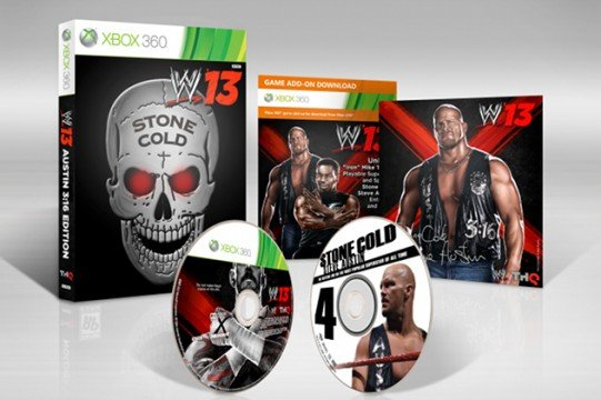 WWE 13 Collectors Edition Stone Cold 541x360 WWE 13 Collectors Edition Revealed