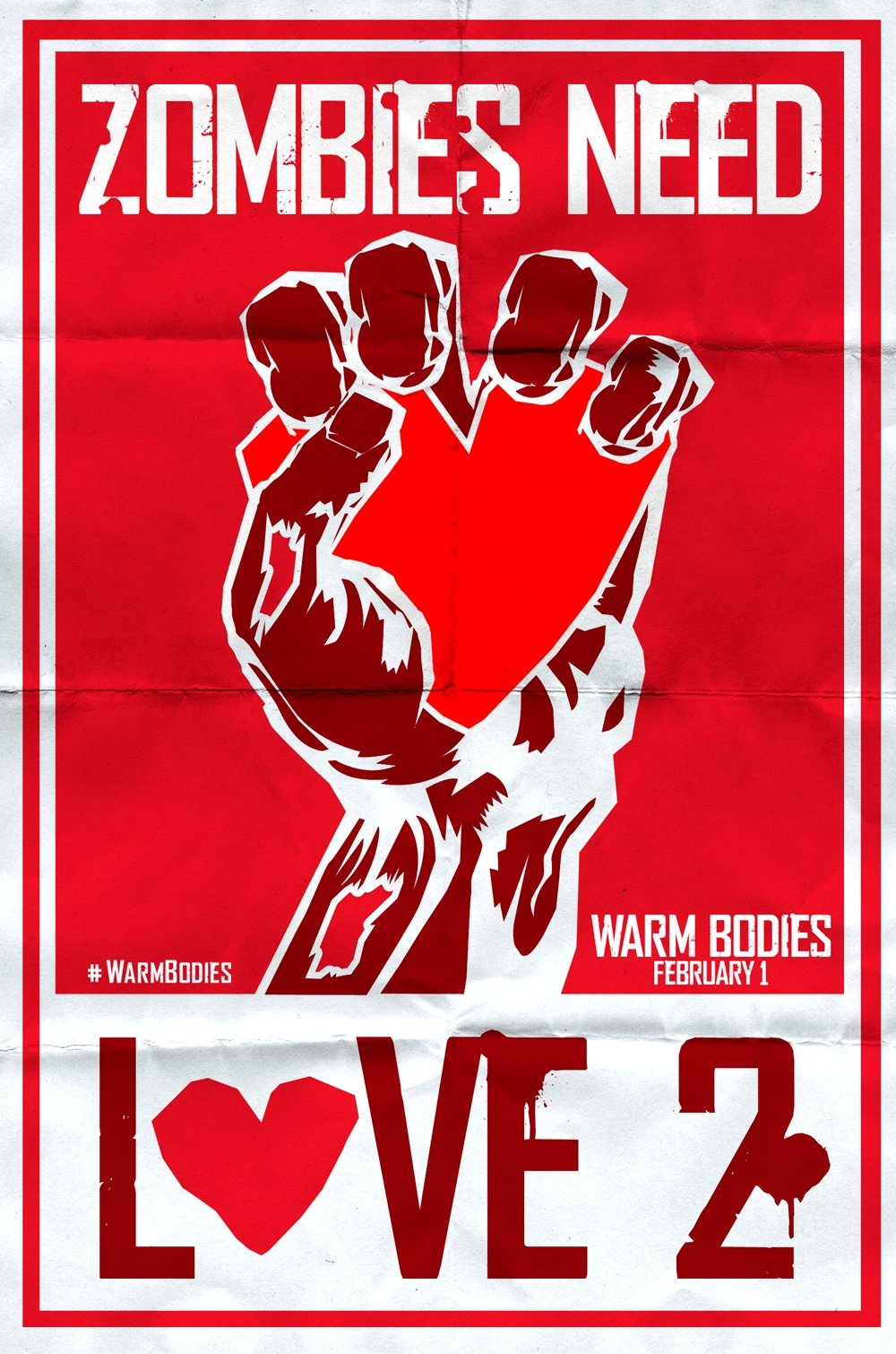 A New Poster For Warm Bodies, Nicholas Hoult Talks About The Film