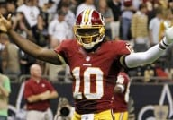 Washington Redskins' Robert Griffin III