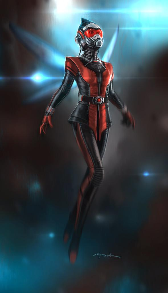 Concept Art Of The Original Wasp Suit From Ant-Man Revealed