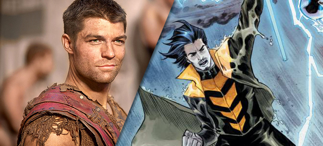 Spartacus Star Liam McIntyre Joins The Flash As Weather Wizard
