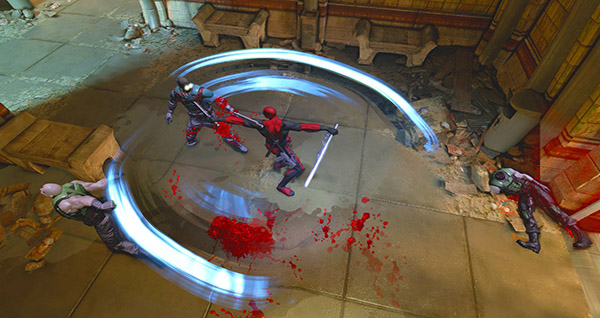 Whirlwing Deadpool Game Unveils New Screenshots