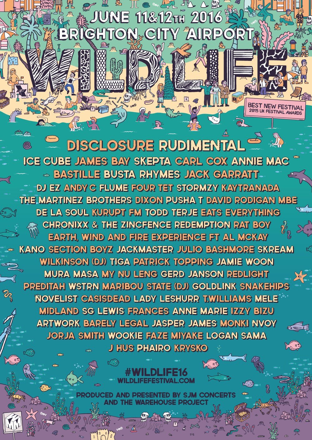 Wildlife Festival Returns In 2016 With An Ever-Eclectic Lineup
