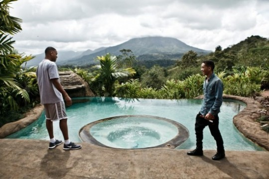 First Look At Will And Jaden Smith On The Set Of After Earth