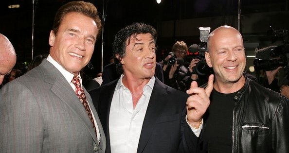 Bruce Willis And Arnold Schwarzenegger Officially Join The Expendables 2